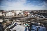 Chorzów z lotu ptaka zimą 2021. Zobaczcie piękne panoramy miasta w obiektywie Marzeny Bugały, fotoreporterki DZ