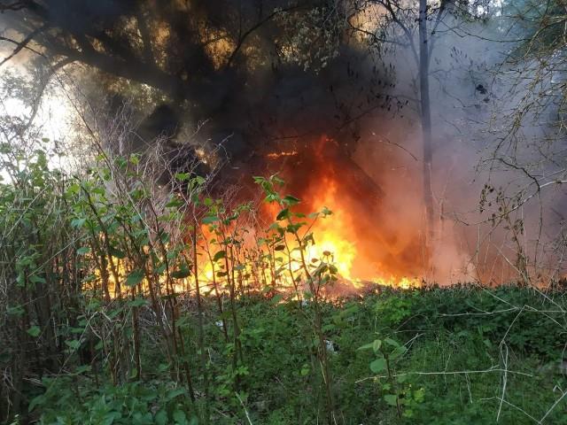 Pożar w gminie Połczyn-Zdrój