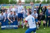Podlaski Puchar Polski. Jagiellonia II - Olimpia 1:3. Urodzinowy hat-trick dał zambrowianom trofeum (zdjęcia)