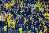 Kibice na meczu Villarreal - Manchester United. Tak dopingowali swoje drużyny. Piłkarskie święto na stadionie w Gdańsku [zdjęcia]