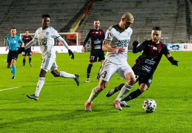 W lutym było 0-0 w Szczecinie między Pogonią a Śląskiem.