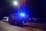 Zderzenie samochodu osobowego z szynobusem w Chojnicach. 28.07.2021 r. Kierowcę audi przetransportowano do szpitala