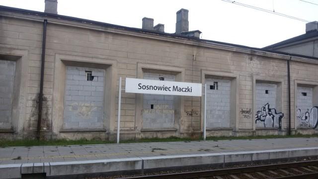 Dworzec Sosnowiec-Maczki: trwają prace remontowe