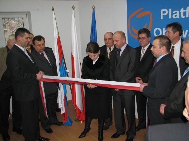 Sandomierz Biuro Platformy Obywatelskiej Otwarte Echo