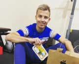Nowy żużlowiec Abramczyk Polonia Bydgoszcz wylewa siódme poty przed sezonem 2021 [wideo]