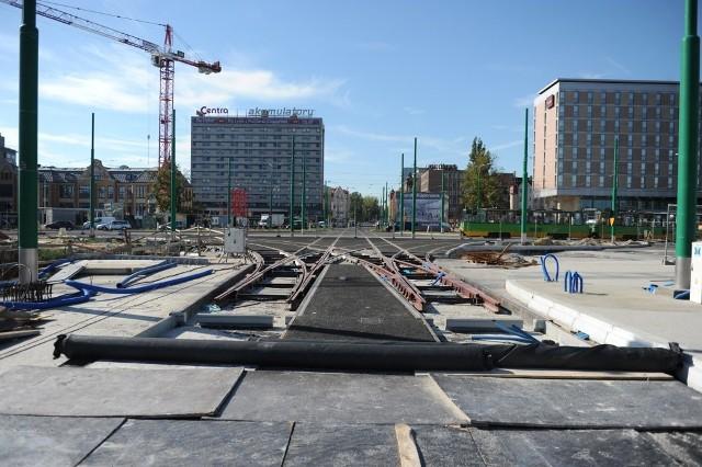 Remont ronda Kaponiera w Poznaniu