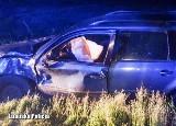Nocny pościg ulicami Nowej Soli za pijanym kierowcą. 25-latek nie posiadał nawet prawa jazdy! Zostawił w aucie zakrwawionego pasażera