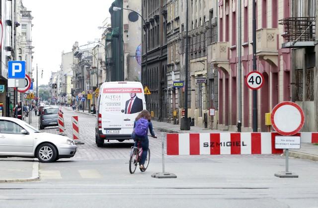 Od poniedziałku 25 czerwca trwa remont ul. Jaracza w Łodzi