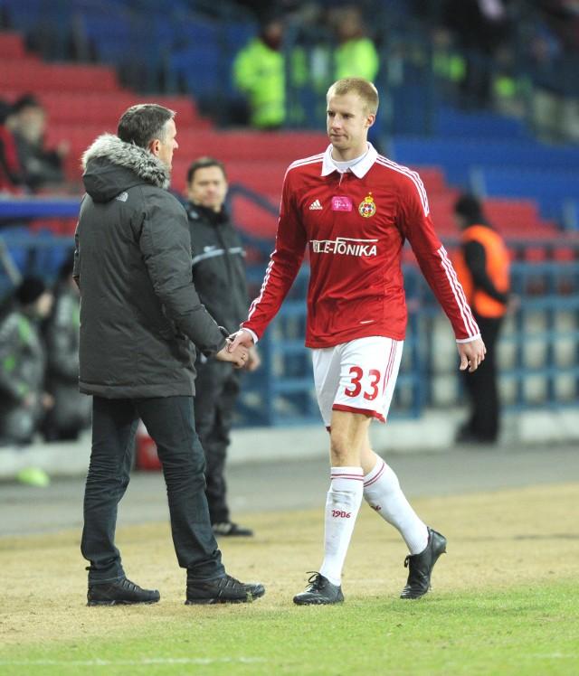 Michał Czekaj rozegrał w barwach Wisły Kraków 37 meczów