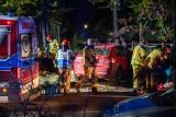 Podhale. Groźny wypadek w Kościelisku. Trzy osoby ranne trafiły do szpitala