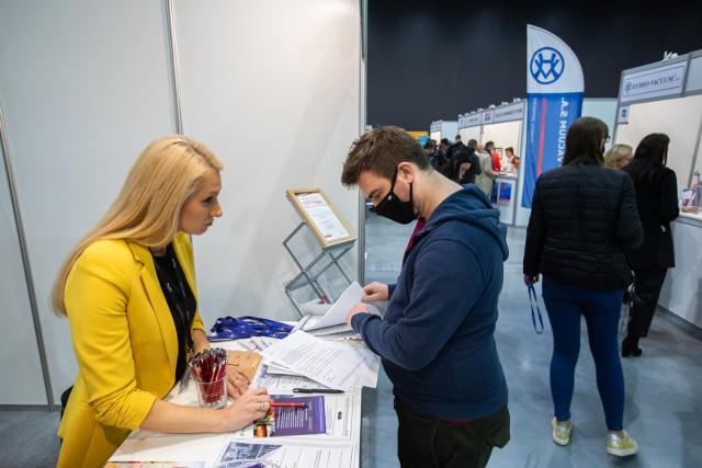 Targi Pracy w Bydgoszczy, jedyna taka impreza targowa w tym roku w regionie, zgromadziły ponad 40 wystawców.