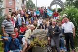 Pielgrzymi z Argentyny znów zawitali do Białegostoku. Odwiedzili hospicjum Dom Opatrzności Bożej