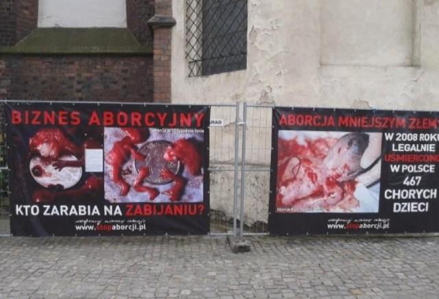 Zdjęcia rozczłonkowanych płodów znów publicznie zostaną pokazane we Wrocławiu