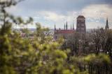 Wiosenna panorama Gdańska! Widoki z Góry Gradowej zapierają dech