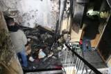 Pożar na Tomaszewicza w Łodzi. Ranni w pożarze wieżowca. Czy to było podpalenie? [ZDJĘCIA, FILM]