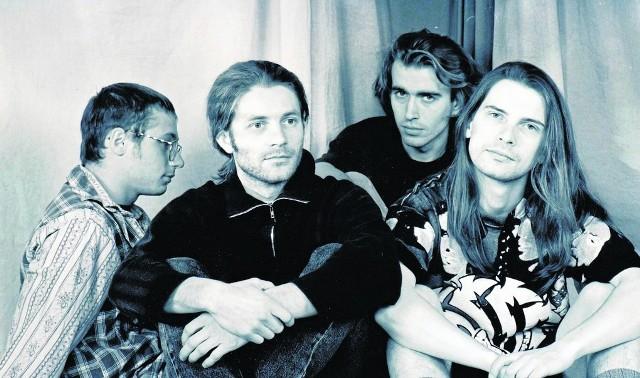 Gdzie Cikwiaty w 1994 roku (od lewej): P. Pałaszewski, K. Kropisz, T. Szeląg, J. Barzycki