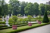 Salon ogrodowy na zapleczu Pałacu Branickich wśród pięciu najpiękniejszych ogrodów w Polsce