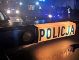 Kierowca volvo potrącił rowerzystę, który miał... 2 promile alkoholu we krwi i jechał bez oświetlenia