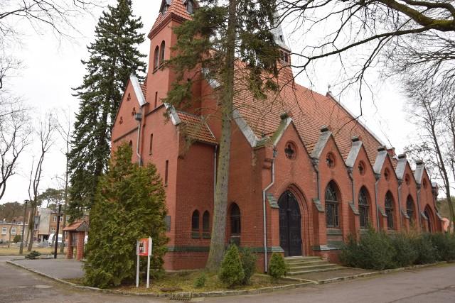 Kościół w Obrzycach.