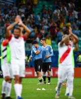 Łzy Suarez po wyeliminowaniu Urugwaju przez Peru. Neymar: Głowa do góry, bracie