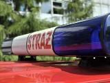 Kalisz: Butle z gazem wypadły z ciężarówki