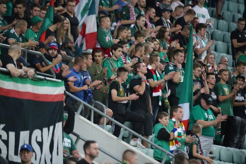 Kibice na meczu Śląsk Wrocław - Lech Poznań [ZNAJDŹ SIĘ NA ZDJĘCIU]