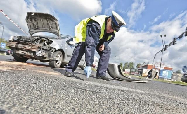 Auta zderzyły się na skrzyżowaniu ul. Energetyków i Elektronowej
