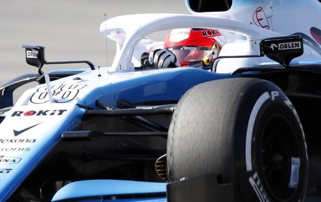 Robert Kubica zadebiutował na torze w Baku.