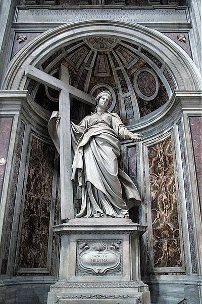 Posąg św. Heleny w Bazylice św. Piotra