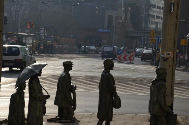 Budowa przejścia dla pieszych na ul. Świdnickiej i remont przystanku tramwajowego