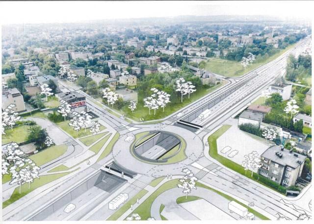 Tak po przebudowie ma wyglądać skrzyżowanie ulic Kościuszki i Armii Krajowej