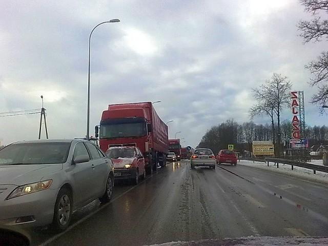 Zablokowany wjazd do BialegostokuZablokowany wjazd do Bialegostoku