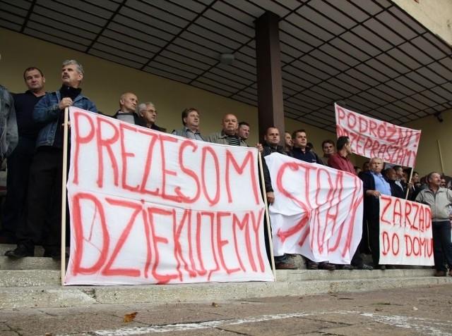 Strajk w PKS Białystok
