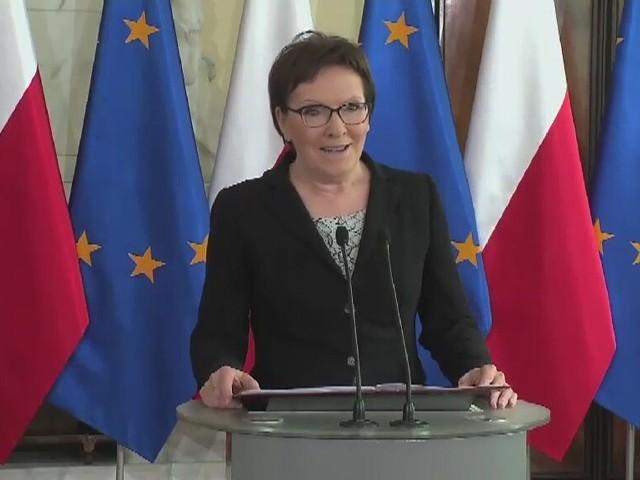 Premier Ewa Kopacz przedstawiła nazwiska nowych ministrów.