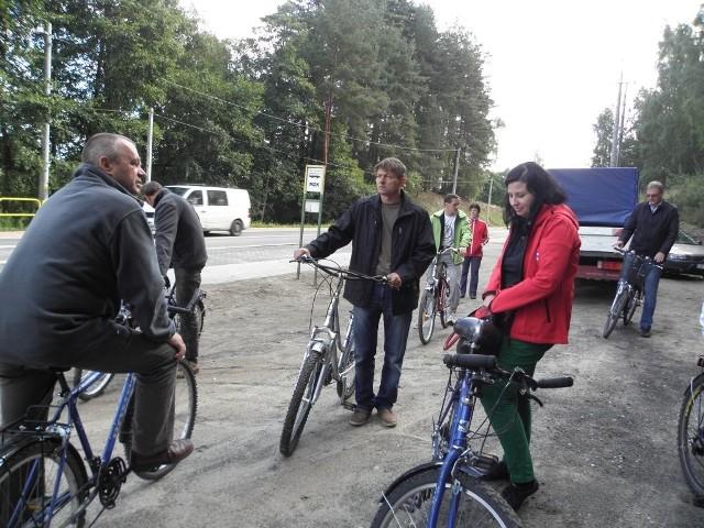 Rowerami jeżdżą wszyscy - od samorządowców, przez urzędników, do zwykłych Kowalskich.