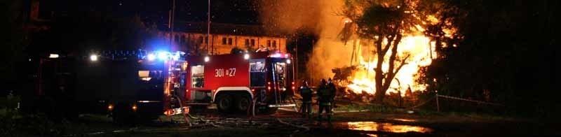 Z pożarem walczyło 49 strażaków