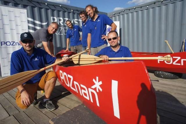 Własnoręcznie wykonane canoe zawodowały na Warcie
