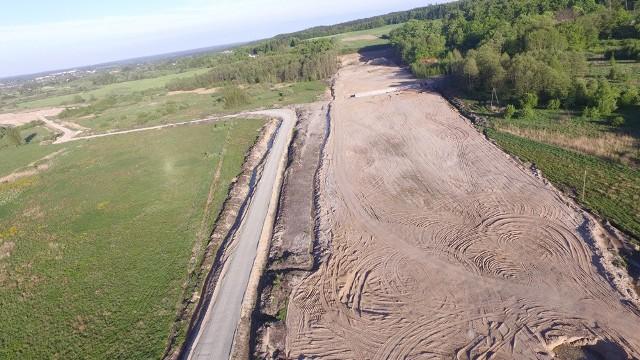 W naszym regionie trwa realizacja drogi ekspresowej S6. Zobaczcie najnowsze zdjęcia z postępu prac.