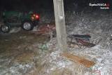 Wypadek na kuligu w Ryczowie. 16-latek przygnieciony przez traktor