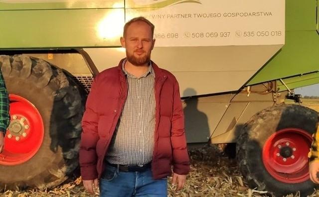 - Rolnictwo to żywy organizm. Ziemia, zwierzęta, rośliny - mówi Patryk Jankowski, mieszkaniec powiatu włocławskiego