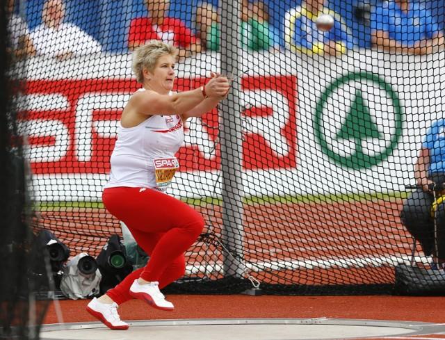 Anita Włodarczyk ma w dorobku cztery medale mistrzostw Europy - trzy złote i jeden brązowy.