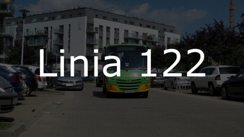 Linia nr 122 na Junikowie pozwoliłaby na obsługę ulic:...