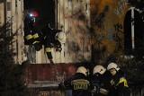 Groźny pożar w Kostrzynie. Paliły się zabudowania na rampie kolejowej [ZDJĘCIA]