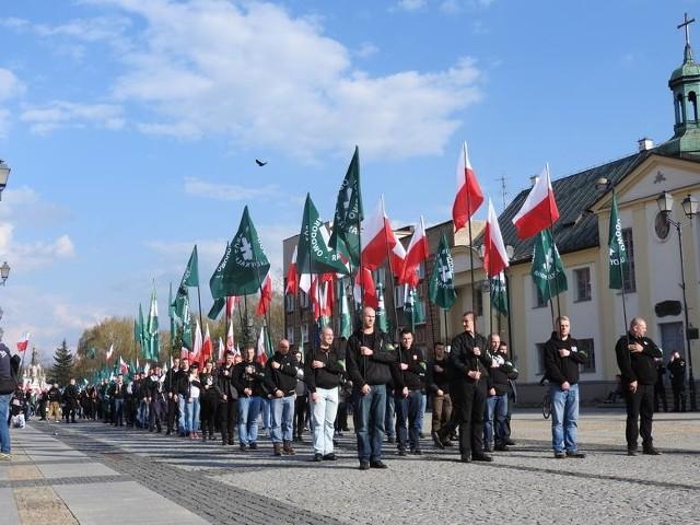 Obchody 82. rocznicy powstania ONR odbyły się w Białymstoku w 2016 roku