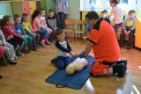 Maluchy z zielonogórskiego Przedszkola Misia Uszatka już wiedzą, jak udzielać pierwszej pomocy! [ZDJĘCIA, WIDEO]