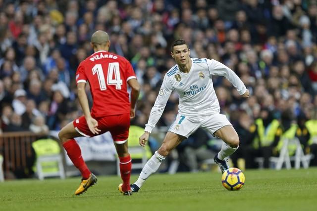 W meczu z Sevillą w ostatni weekend Cristiano Ronaldo strzelił dwa gole. Real Madryt wygrał 5:0.
