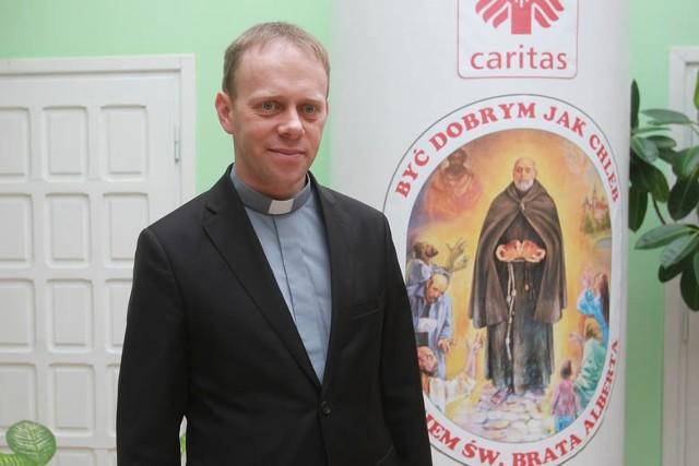 Ks. Piotr Potyrała, dyrektor Caritas Diecezji Rzeszowskiej