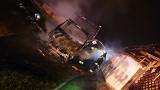 Pożar w Nowej Wsi. Samochód spłonął, dom strażacy zdołali uratować! [ZDJĘCIA]