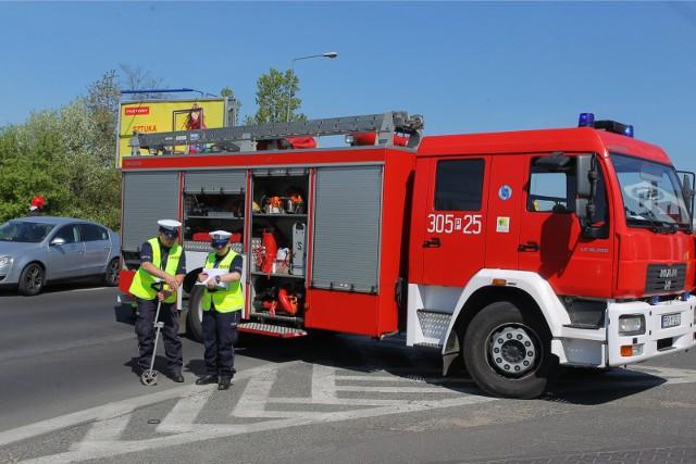 Do wypadku doszło w Buku, około godziny 13.