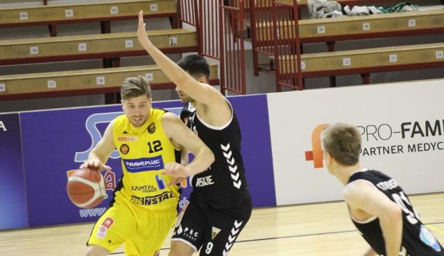 Michał Jankowski był najskuteczniejszym graczem Sokoła w sobotnim starciu